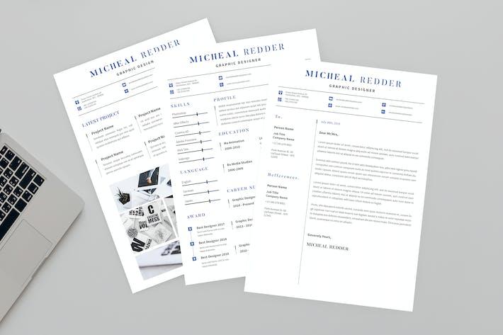 Thumbnail for Wad CV Resume Designer