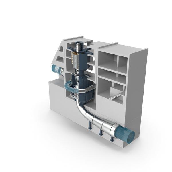 Pumpspeicherkraftwerk mit variabler
