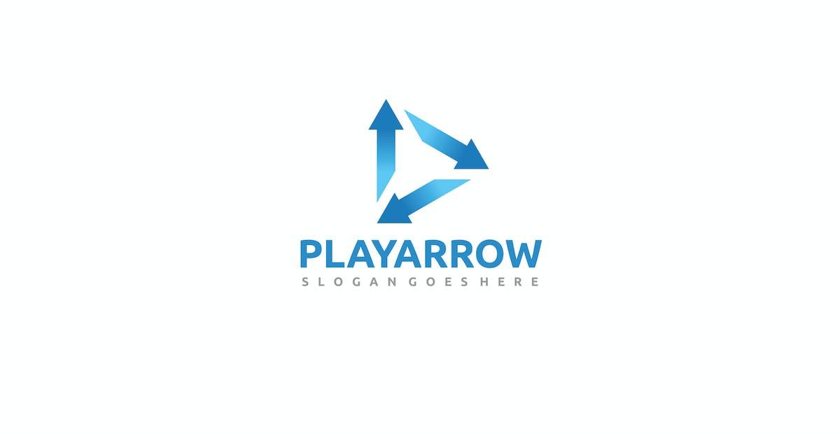 Download Play Arrows Logo by 3ab2ou