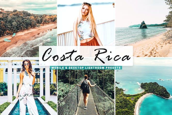 Thumbnail for Costa Rica Mobile & Desktop Lightroom Presets