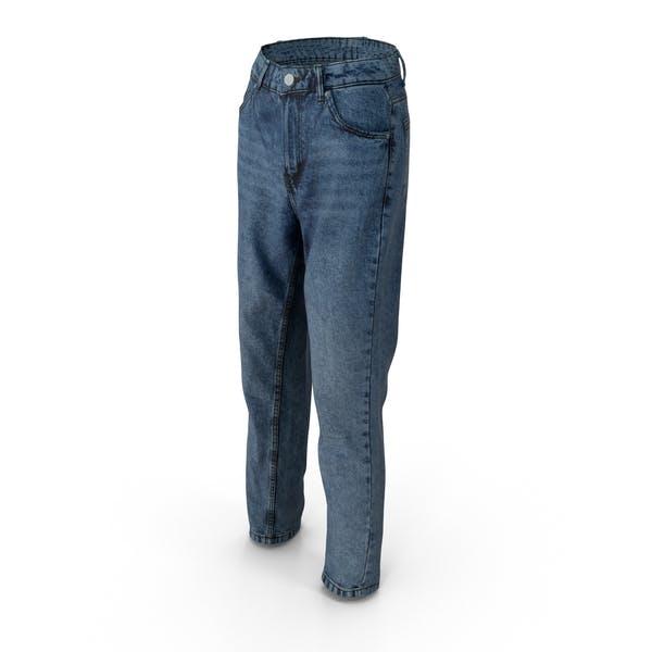 Женские джинсы Темно-синий