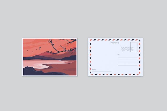 Thumbnail for Postcard Mockup V3