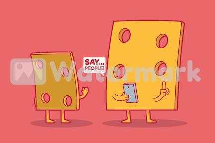 Sagen Sie Käse