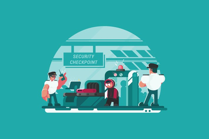 Thumbnail for Security Checkpoint - Vector Activity