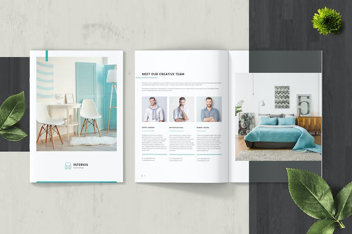Thumbnail for Interios – Interior Design Brochure