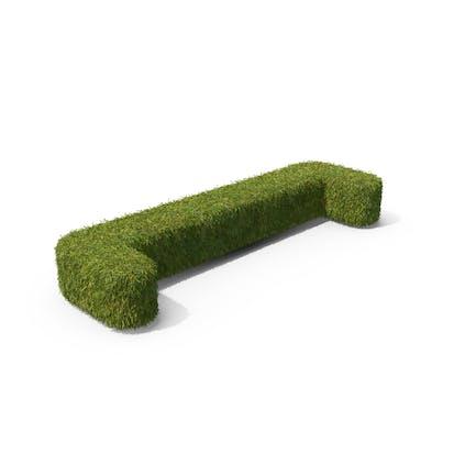 Grass Open Bracket Symbol on Ground