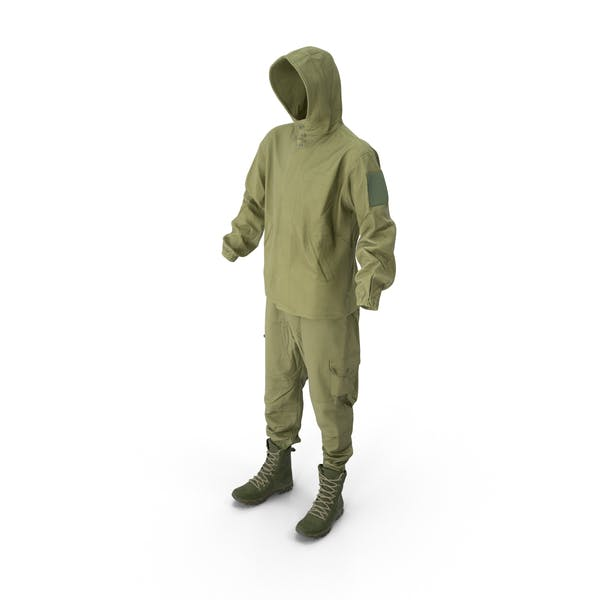 Cover Image for Military Coveralls With Boots