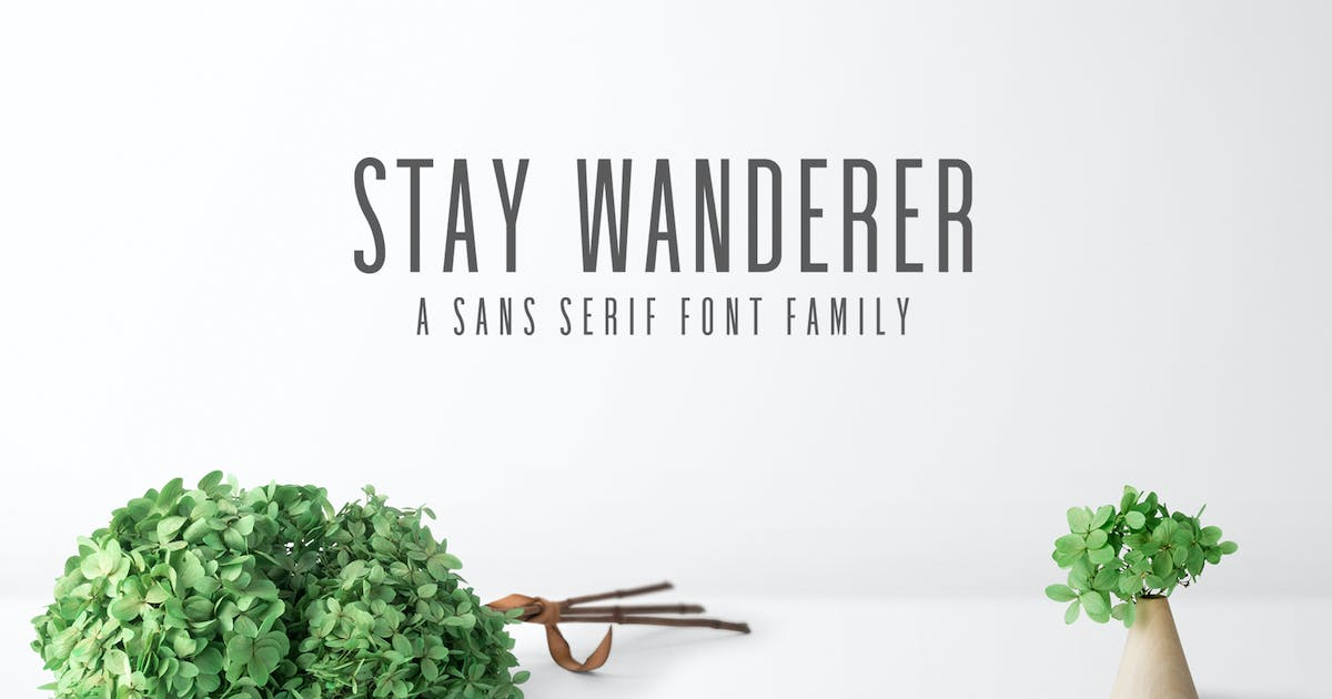 Download Stay Wanderer Sans Serif Font Family Pack by creativetacos