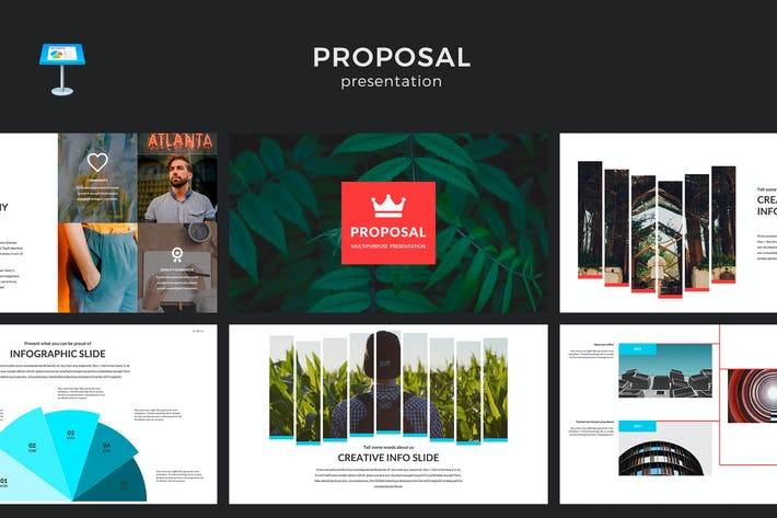 Thumbnail for Proposal Keynote Template