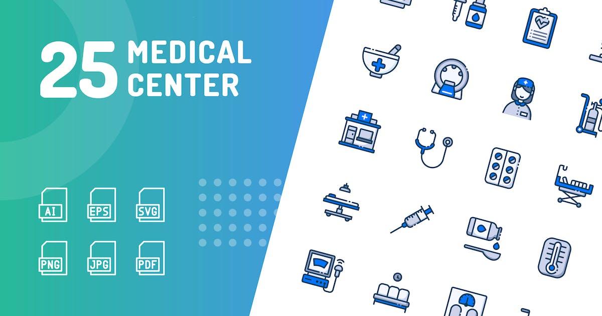 Download Medical Center Color Icons by kerismaker