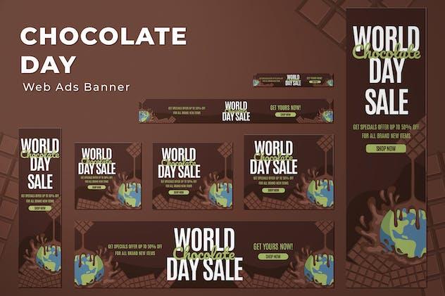 Web Ads Banners - World Chocolate Day