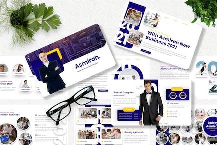 Asmirah - Corporate Powerpoint Template