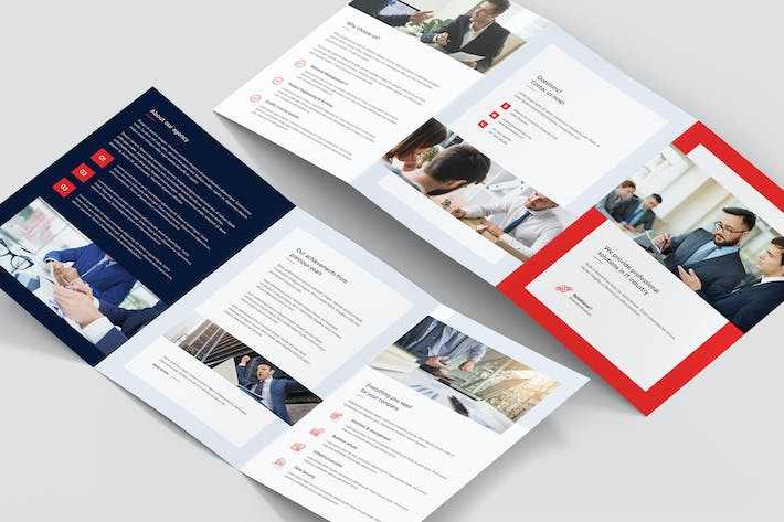 Thumbnail for Brochure – IT Solutions Tri-Fold A5