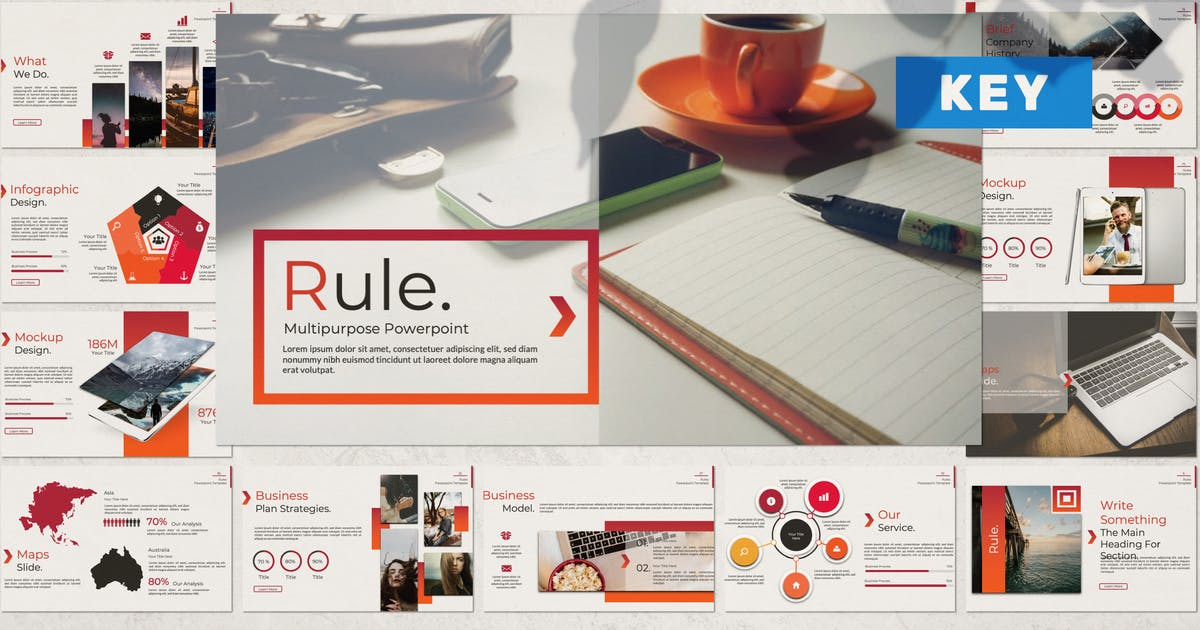 Download Rule Creative Keynote by templatehere