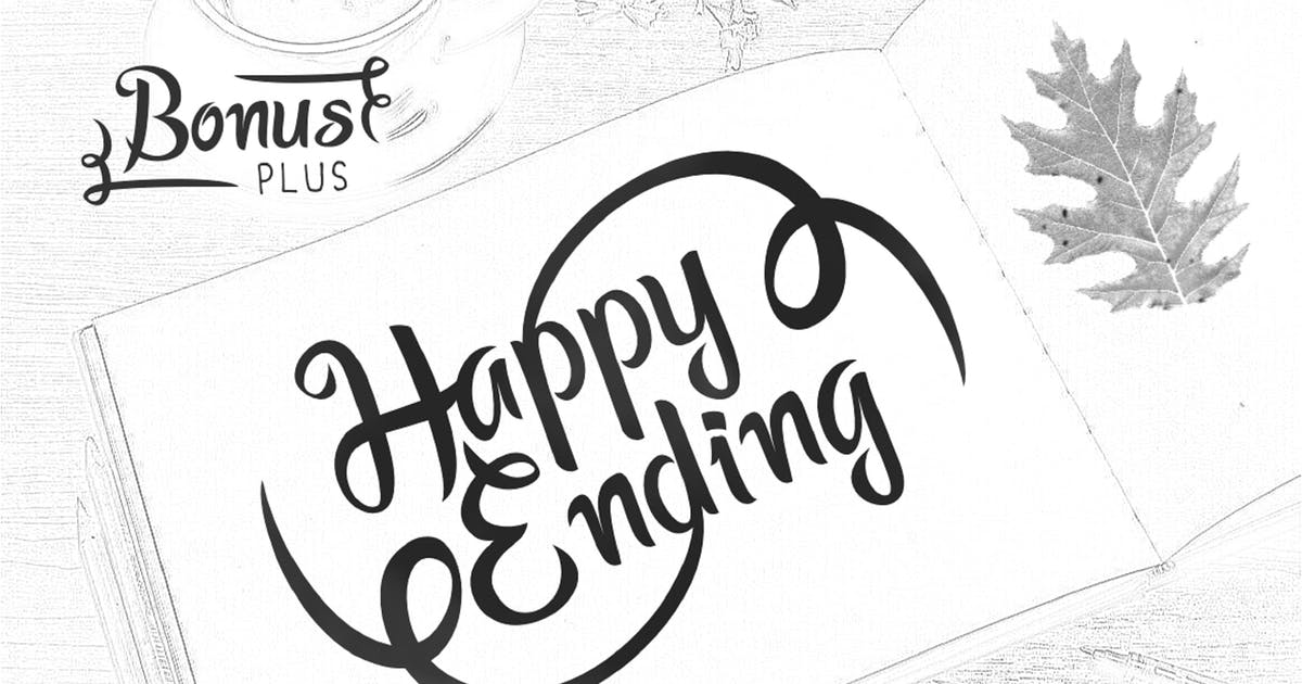 Download Happy Ending Typeface by yandidesigns