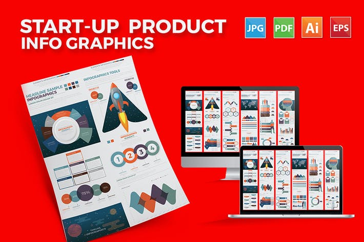 Thumbnail for Business - Start Up Infographics