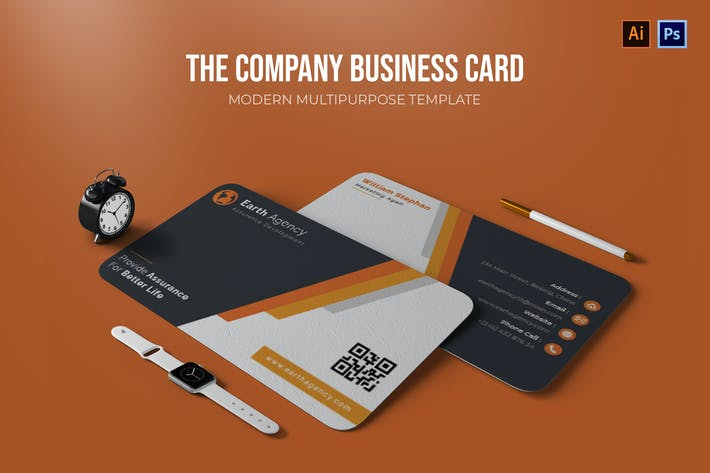 Thumbnail for Company - Business Card