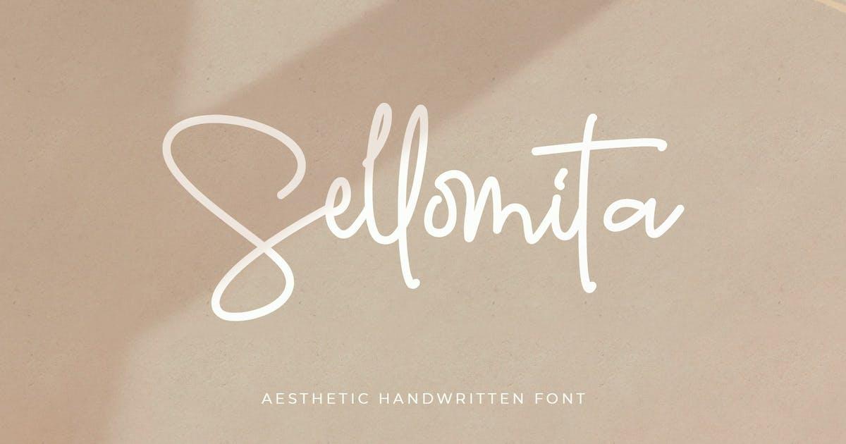 Download Sellomita - Handwritten Font by Creavora