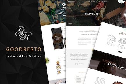GoodResto - Restaurant WordPress Theme + Woocommer