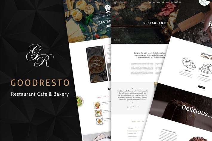 Thumbnail for GoodResto - Restaurante WordPress Tema + Woocommer