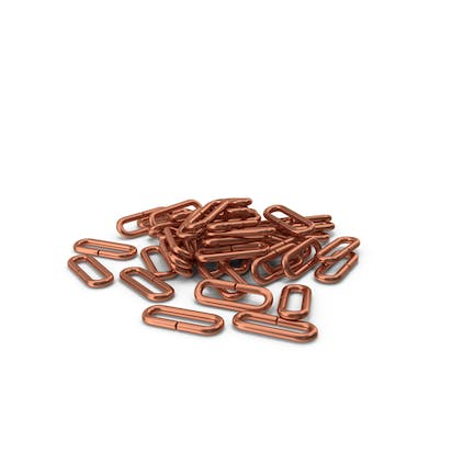 Pile Of Chain Links Bronze