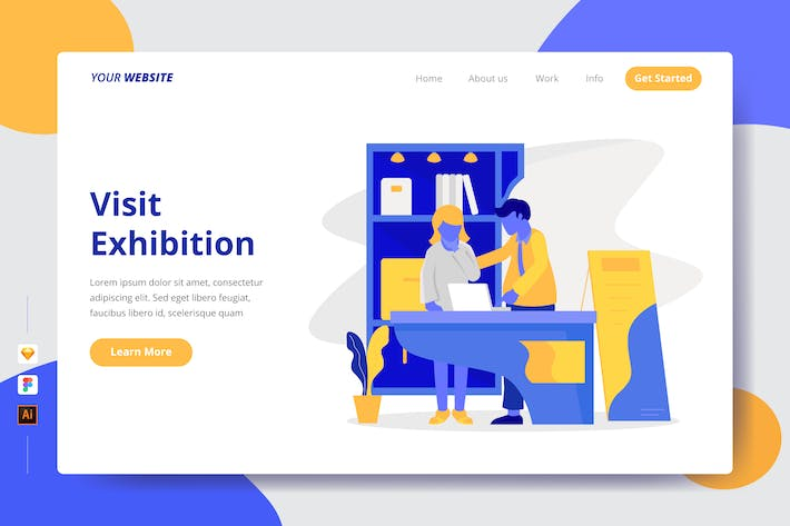 Thumbnail for Visit Exhibition - Landing Page