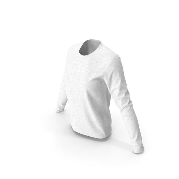 Women Round Neck Sweatshirt