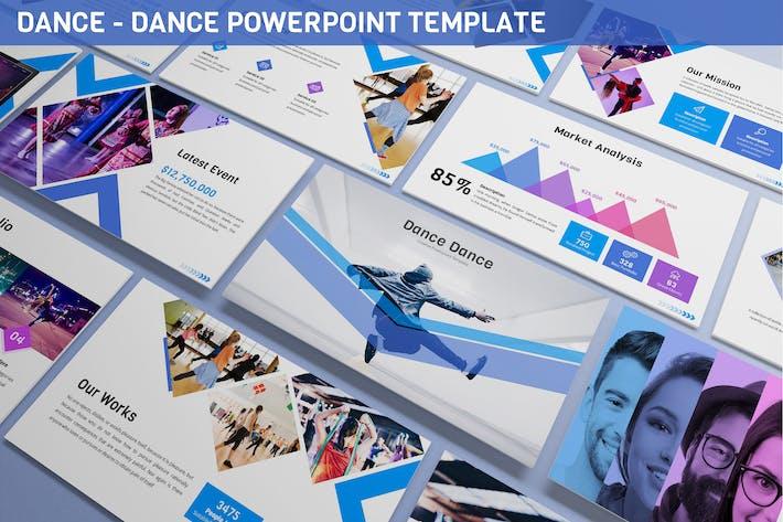 Thumbnail for Dance - Dance Powerpoint Vorlage