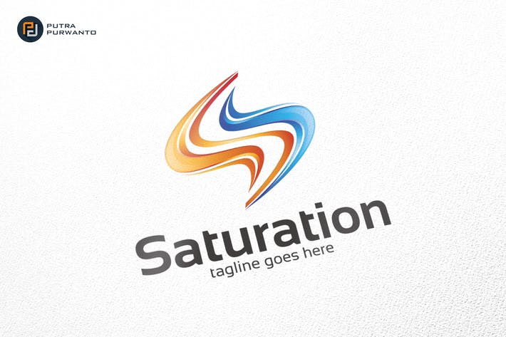 Thumbnail for Saturation / S Logo - Logo Template