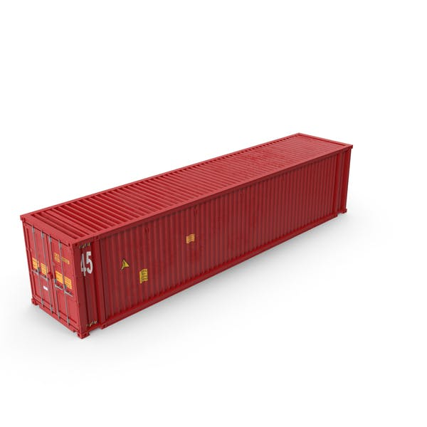 45 ft Long Shipping Container