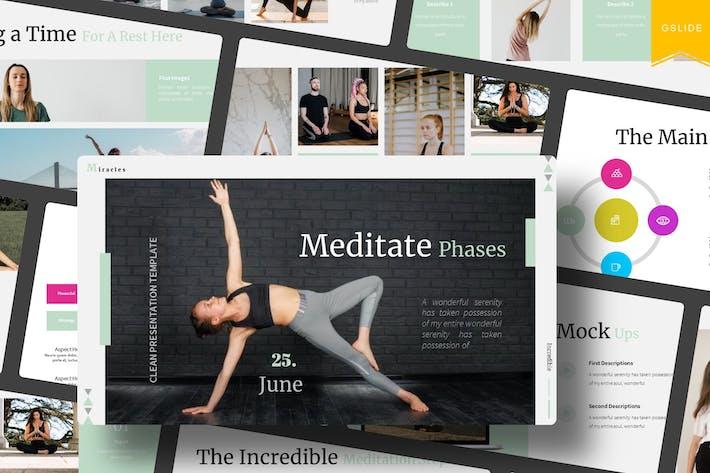 Meditate Phase   Google Slides Template