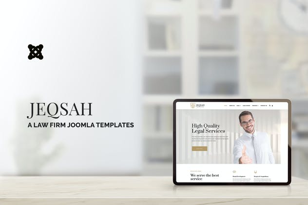 Jeqsah - Law Lawyer & Attorney Joomla Templates