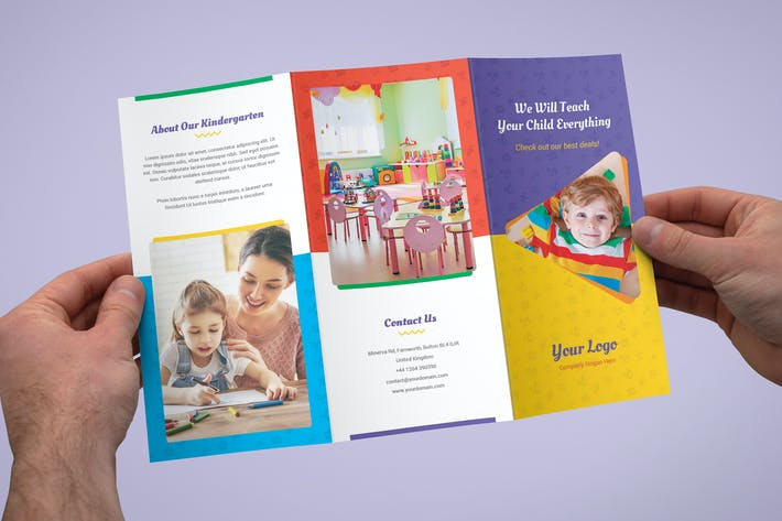 Thumbnail for Brochure – Kindergarten Tri-Fold