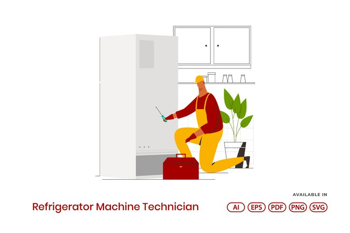 Thumbnail for Refrigerator Machine Technician