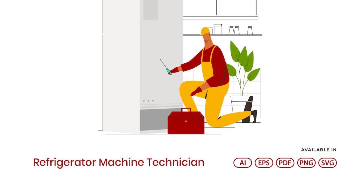 Download Refrigerator Machine Technician by visuelcolonie