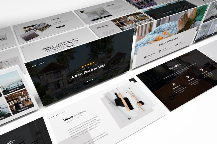 Thumbnail for Moxa Hotel Powerpoint Presentation Template