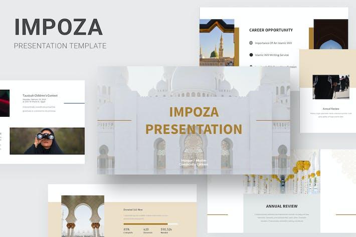 Thumbnail for Impoza - Ramadan Islamic Event Keynote