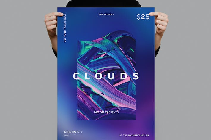 Thumbnail for Clouds Flyer Template