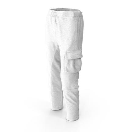 Damen Hose Weiß