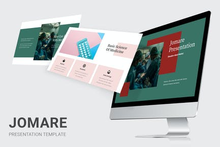 Jomare - Education About Medical Powerpoint