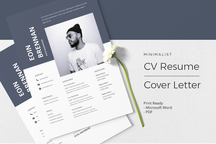 Thumbnail for Eoin Brennan - CV Resume Template