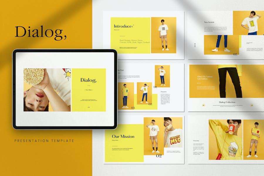 Dialog - Business Marketing Powerpoint