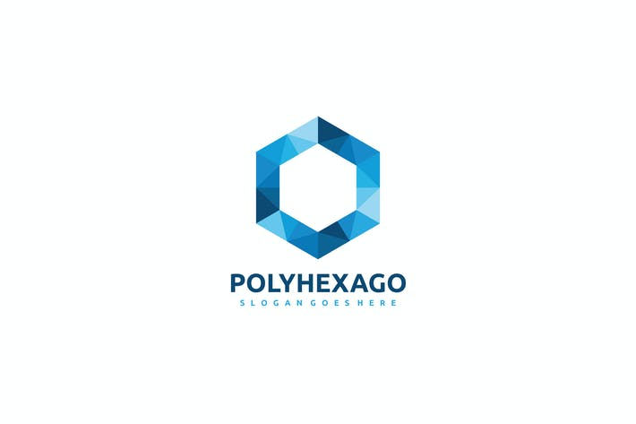 Thumbnail for Polygonales Hexagon Logo