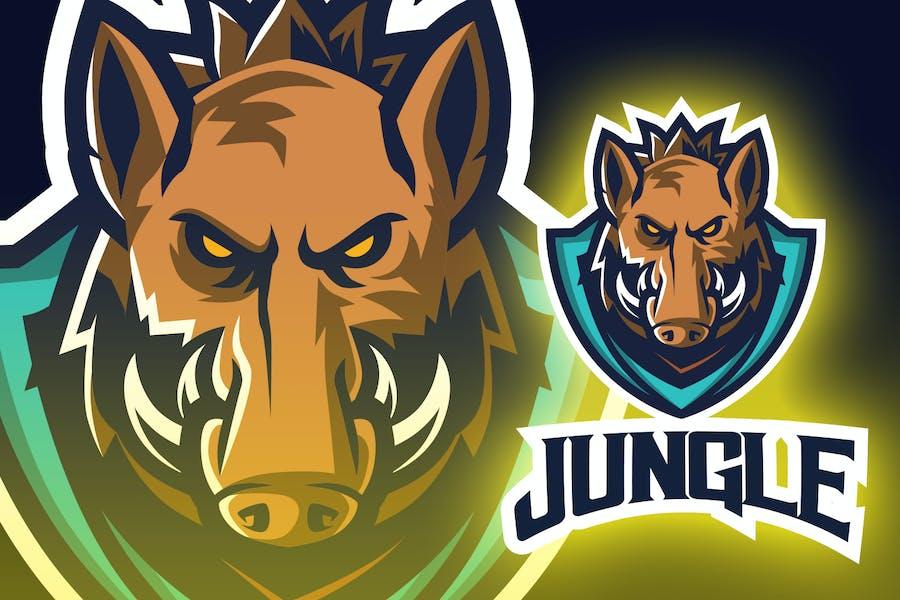 Wild Boar Esport Logo