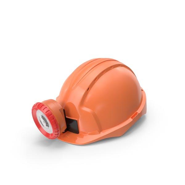 Miner Helmet With Lamp