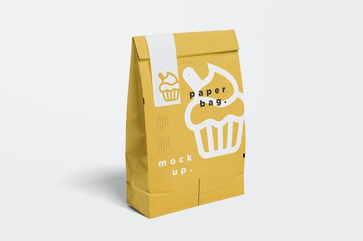 Cover Image For Paper Bag Mock Ups