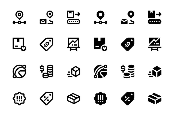Thumbnail for 40 E-commerce Icons