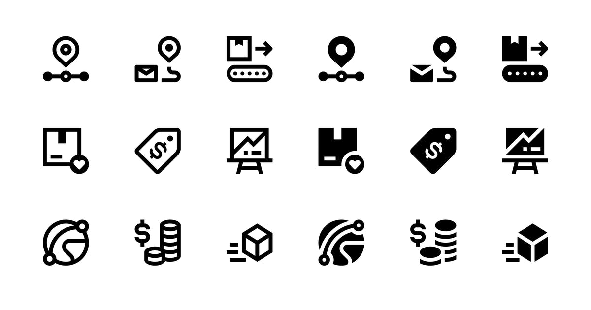 40 E-commerce Icons by Unknow
