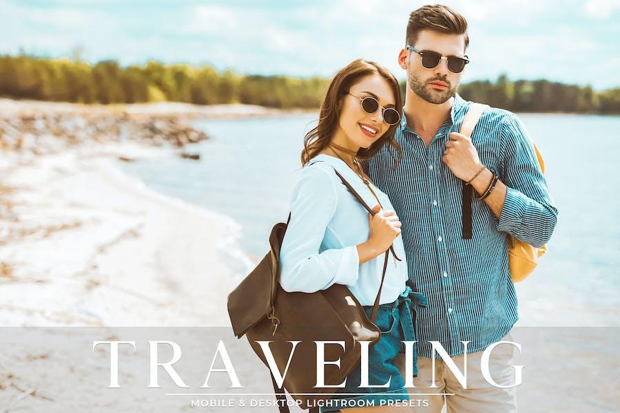 Traveling Mobile & Desktop Lightroom Presets Pack