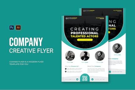 Actors Company - Flyer